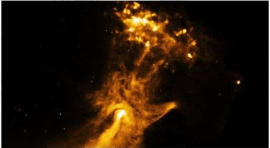 NASA posts image of `Hand of God`, netizens are awestruck