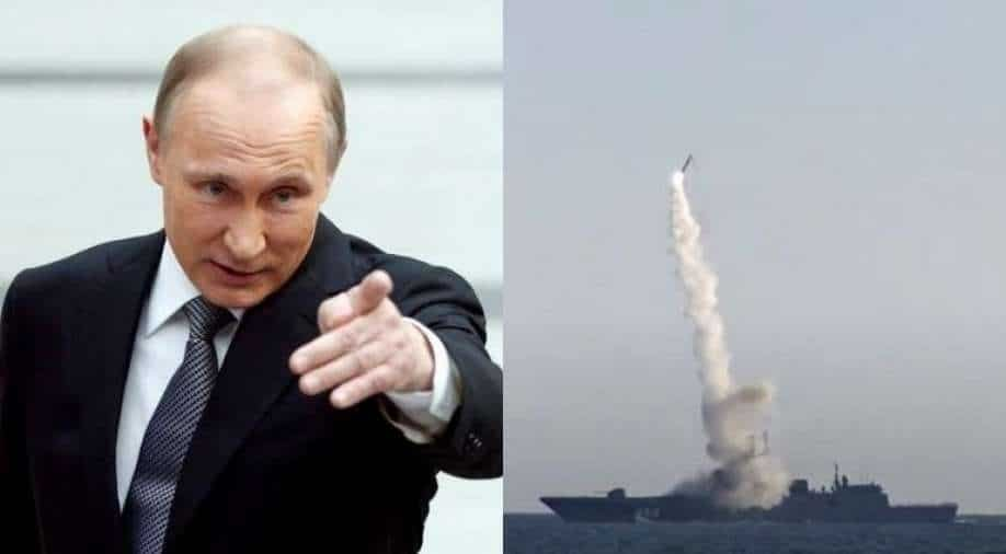 Russian hypersonic nukes capable of wiping out US cities `on alert`: Putin